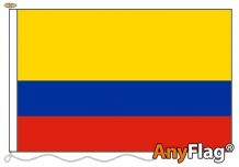 - COLOMBIA ANYFLAG RANGE - VARIOUS SIZES